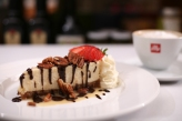 Decadent homemade desserts such as the Turtle Cheesecake