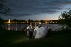 Wedding on the Riverfront ~ Photography by Brittany Wentzell Verge