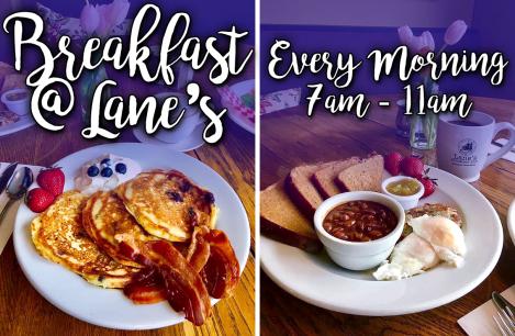 Lane's Privateer Inn ~ Breakfast Every Day